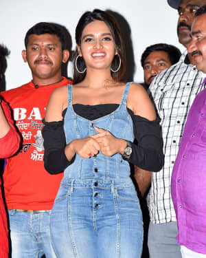 Nidhhi Agerwal - Ismart Shankar Movie Success Tour At Nalgonda And Suryapet Photos