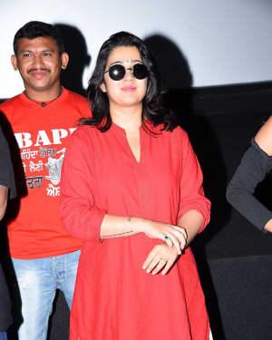Charmy Kaur - Ismart Shankar Movie Success Tour At Nalgonda And Suryapet Photos