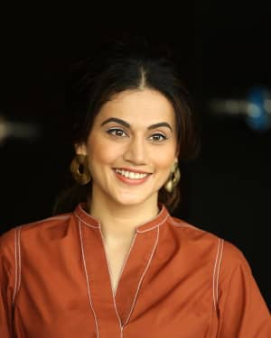 Taapsee Pannu Photos At Game Over Interview