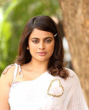 Nandita Swetha - Akshra Telugu Movie Teaser Launch Photos