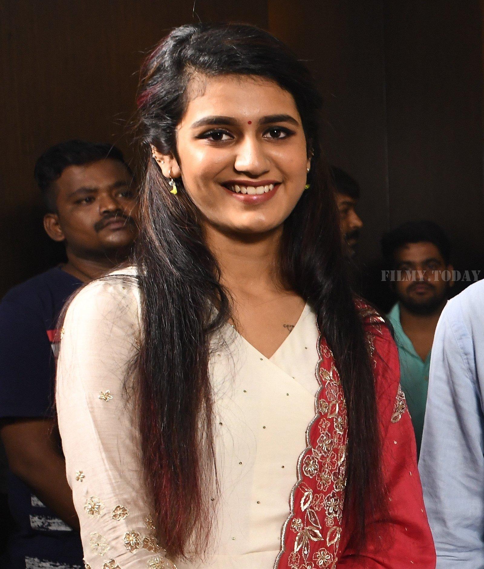 Priya Prakash Varrier - Nitin & Priya Prakash Varrier's New Movie Opening Photos | Picture 1656350