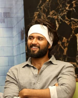 Vijay Devarakonda - Agent Sai Srinivasa Athreya Movie Press Meet Photos | Picture 1656876