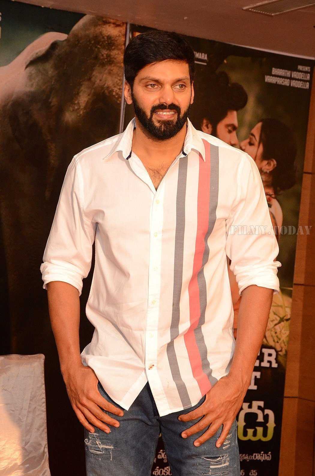 Arya (Actors) - Gajendrudu Movie Success Meet | Picture 1657070