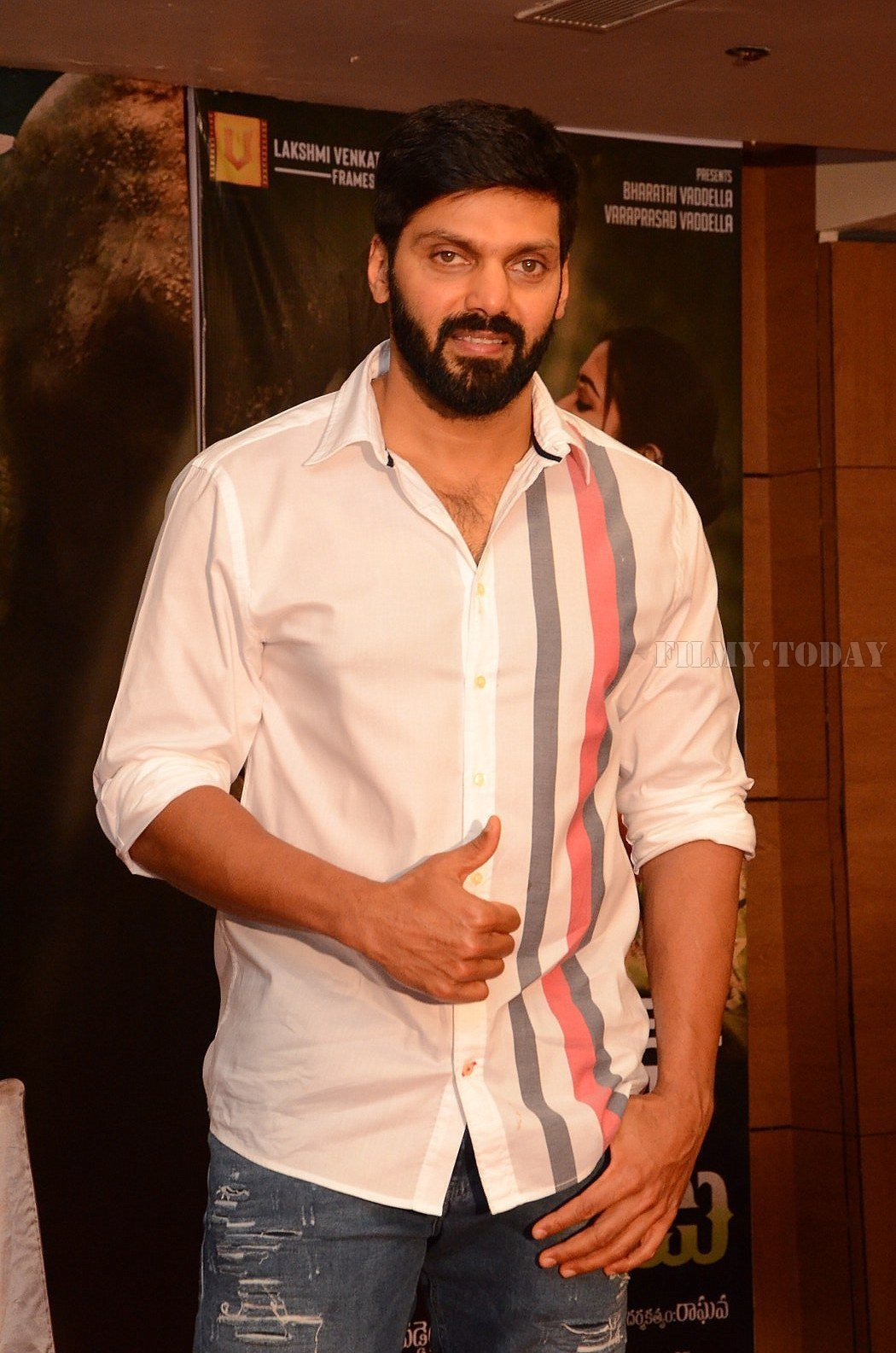 Arya (Actors) - Gajendrudu Movie Success Meet   Picture 1657071
