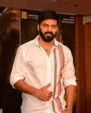 Arya (Actors) - Gajendrudu Movie Success Meet