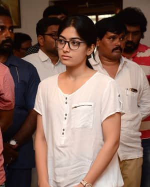Rashmika Mandanna - Photos: Celebs Pay Homage To Vijaya Nirmala