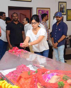 Rashmika Mandanna - Photos: Celebs Pay Homage To Vijaya Nirmala | Picture 1657841