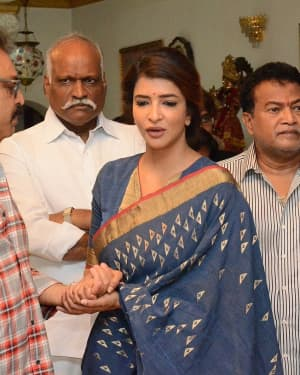 Lakshmi Manchu - Photos: Celebs Pay Homage To Vijaya Nirmala