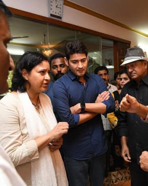 Mahesh Babu - Photos: Celebs Pay Homage To Vijaya Nirmala