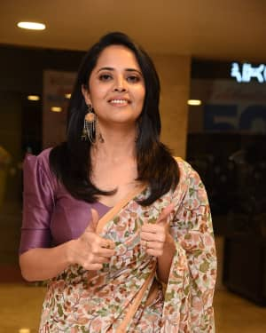 Anasuya Bharadwaj - F2 Telugu Movie 50 Days Celebrations Photos | Picture 1631470