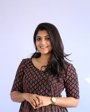 Aparna Balamurali - Sarvam Thaala Mayam Telugu Version Press Meet Photos