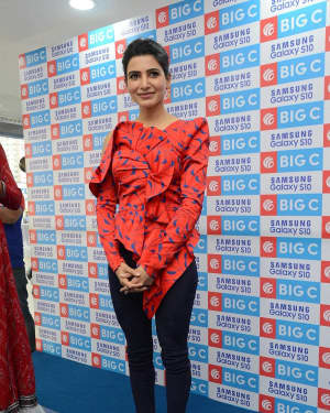 Samantha Akkineni - Samsung S10e Mobile Launch At Big C Showroom Photos | Picture 1632487