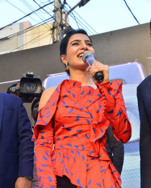Samantha - Samsung S10e Mobile Launch At Big C Showroom Photos