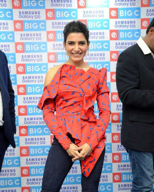 Samantha Akkineni - Samsung S10e Mobile Launch At Big C Showroom Photos | Picture 1632489