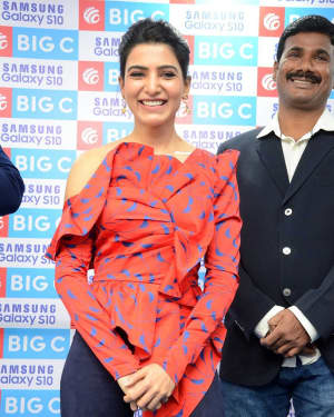 Samantha Akkineni - Samsung S10e Mobile Launch At Big C Showroom Photos | Picture 1632488