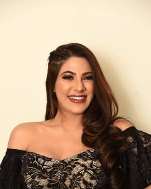 Nikki Tamboli - Chikati Gadilo Chithakotudu Movie Pre Release Event Photos