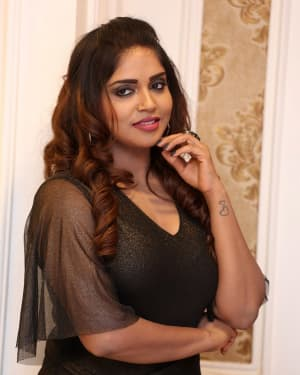 Karunya Chowdary - Yerra Cheera Movie Logo Launch Photos | Picture 1647996