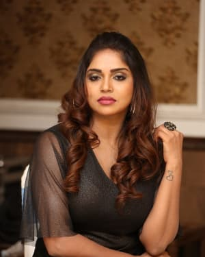 Karunya Chowdary - Yerra Cheera Movie Logo Launch Photos | Picture 1648003