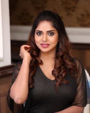 Karunya Chowdary - Yerra Cheera Movie Logo Launch Photos | Picture 1648009