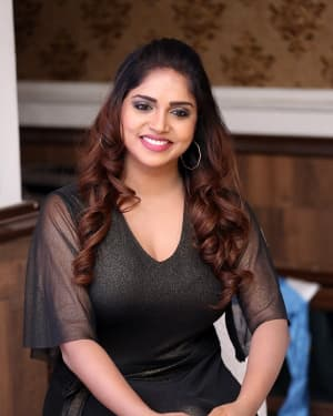 Karunya Chowdary - Yerra Cheera Movie Logo Launch Photos | Picture 1648010