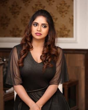 Karunya Chowdary - Yerra Cheera Movie Logo Launch Photos | Picture 1647997