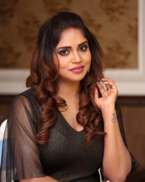 Karunya Chowdary - Yerra Cheera Movie Logo Launch Photos | Picture 1648006