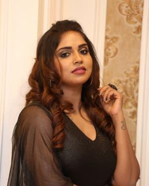 Karunya Chowdary - Yerra Cheera Movie Logo Launch Photos | Picture 1647995
