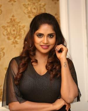 Karunya Chowdary - Yerra Cheera Movie Logo Launch Photos | Picture 1648020