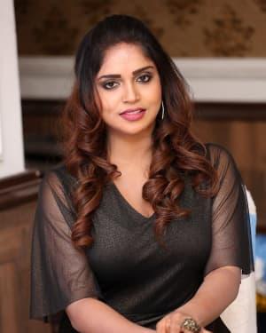 Karunya Chowdary - Yerra Cheera Movie Logo Launch Photos | Picture 1648008