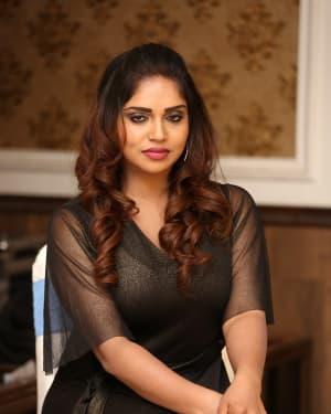 Karunya Chowdary - Yerra Cheera Movie Logo Launch Photos | Picture 1648002
