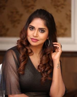 Karunya Chowdary - Yerra Cheera Movie Logo Launch Photos | Picture 1648005