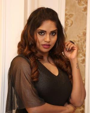 Karunya Chowdary - Yerra Cheera Movie Logo Launch Photos | Picture 1647994