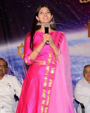 Tejaswini Manogna - God Of Gods Telugu Movie Audio Launch Photos | Picture 1648322