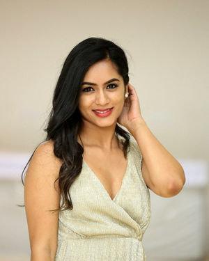 Neha Krishna - Valliddari Madhya Movie Press Meet Photos | Picture 1695836
