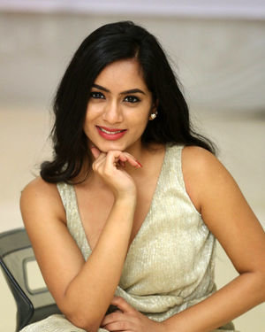 Neha Krishna - Valliddari Madhya Movie Press Meet Photos | Picture 1695866