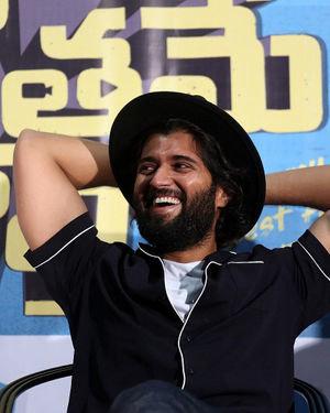 Vijay Devarakonda - Meeku Maathrame Chepta Movie Success Meet Photos