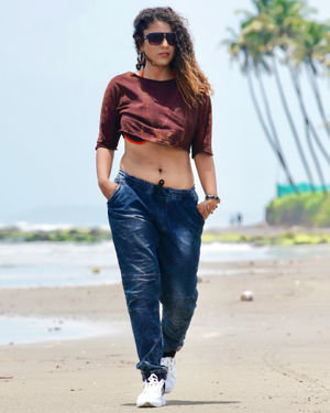Deviyani Sharma Latest Hot Photoshoot In Goa | Picture 1696717