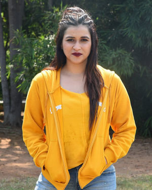 Mannara Chopra - Hi 5 Movie Shooting Spot Coverage And Press Meet Photos