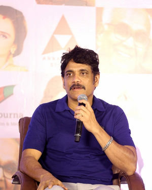 Nagarjuna Akkineni - ANR National Awards 2019 Press Meet Photos | Picture 1699018
