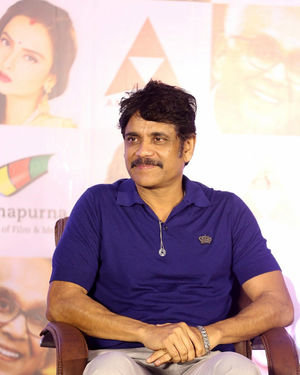 Nagarjuna Akkineni - ANR National Awards 2019 Press Meet Photos | Picture 1699025