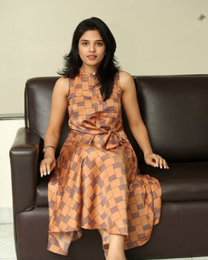 Harshitha Chowdary Photos At Tholubommalata Movie Interview | Picture 1699049