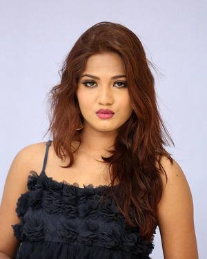 Sravani Nikki - Life Anubhavinchu Raja Movie Trailer Launch Photos