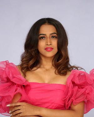 Shruti Shetty - Life Anubhavinchu Raja Movie Trailer Launch Photos