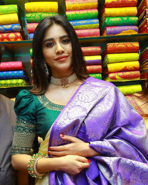 Nabha Natesh At Sri Kanchi Alankar Silks Grand Launch Photos | Picture 1699647