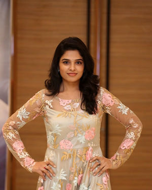 Harshitha Chowdary Photos At Tholu Bommalata Movie Promotions | Picture 1699906
