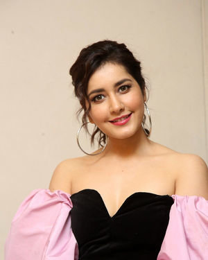Raashi Khanna - Prati Roju Pandage Movie 2nd Single Song Launch Photos