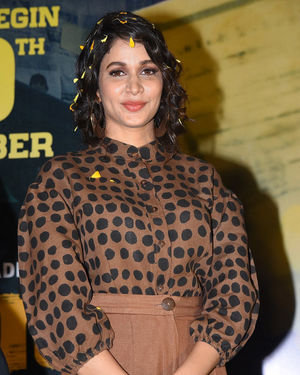 Lavanya Tripathi - Arjun Suravaram Movie Theatrical Trailer Launch Photos