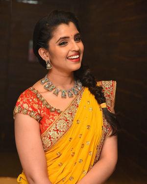Syamala (Anchor) - Raja Vaaru Rani Gaaru Movie Pre Release Event Photos | Picture 1702372
