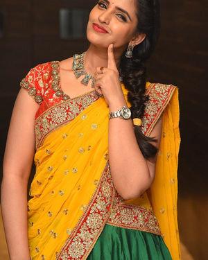 Syamala (Anchor) - Raja Vaaru Rani Gaaru Movie Pre Release Event Photos | Picture 1702369