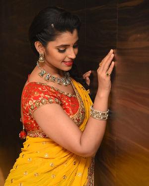 Syamala (Anchor) - Raja Vaaru Rani Gaaru Movie Pre Release Event Photos | Picture 1702380